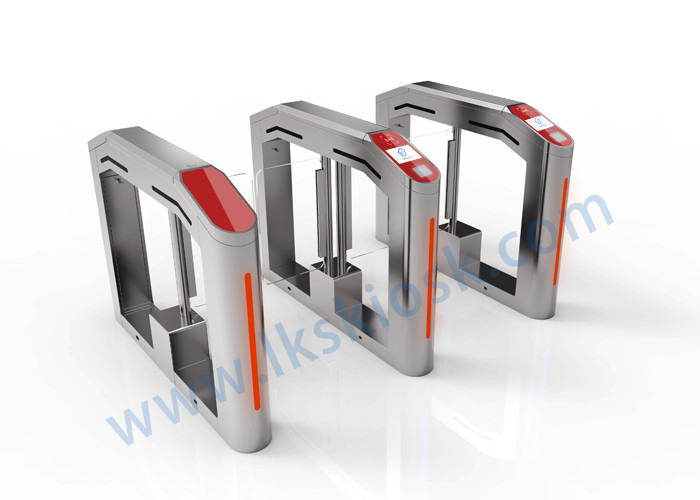 Anti Collision Speed Gates Access Control Cinema Entrance For Ticket Checking