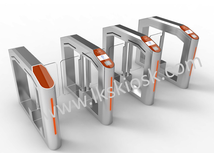 Ticket Checking Automatic Speed Gates System , Access Control Speed Gates In Cinema Entrance